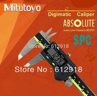 """Top/ japan mitutoyo digital  500-196-20 Caliper Stainless Steel Battery Powered Inch/Metric 0-6"""" Range +/-0.001"""""""