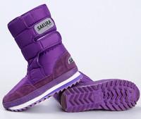 New winter women waterproof platform snow boots women man snow  cotton-padded shoes warm winter fleece inner boots size 34-44