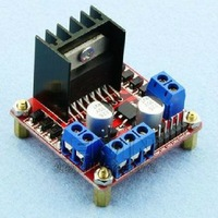 Freeshipping L298N motor driver board module 10pcs/lot