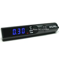 Universal Blue LCD Light 12 Voltage Digital Racing Car Turbo Timer