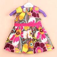 CARTER'S free shipping 2014 summer cotton print dress