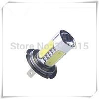 2013 NEW 7.5W LED xenon H7 Car Light Led Day Driving Fog Light Lamp Bulb Super Bright Car Headlights Beam LED Light  for sample