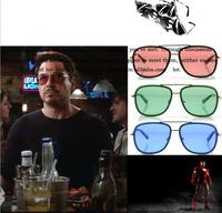 2015 IRON MAN 3 Matsuda RAY TONY Sunglasses Men Mirrored Brand Glasses Vintage Sports Cycling Sun glasses Men Sports Retro Gafas