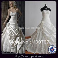 MG010 Real Photo Designer Ruffle luxury Wedding Dresses