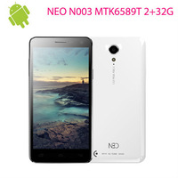 (2013.10.10 10PCS STOCK) NEO N003 2+32G Version  5.0 Inch 1080P IPS Screen MTK6589T Quad Core Smart Phone Android 4.2 1.5GHZ