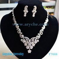 T7008 New 2013 Fashion Bridal Jewelry set Costume Fashion Bead Jewelry Sets