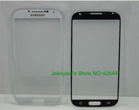 Black/white Original Outer Screen Glass for Samsung Galaxy S4 IV i9500 Top Lens Digitizer Touch/LCD Glass