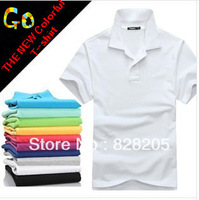 Free Shipping  2013 New Fashion Summer  Men's Shirts Short-sleeved  for Men Lovers Casual T Shirt