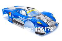 1:10 Radio Control Car 1/10 body shell 200mm  BLUE  S018B free shipping