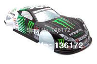 1:10 Radio Control Car 1/10 Honda Concept NSX Modell MONSTER  body shell s049B 200mm  free shipping