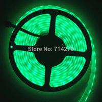 12V DC SMD 5050 green color 60led/m LED strip Flexible Light Strip bright festival LED lighting,waterproof,Free Shipping