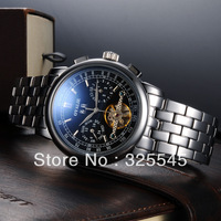 Genuine watches  Automatic mechanical watches Tourbillon watches men fashion Waterproof Men's Watch