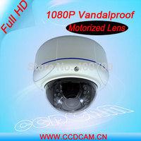 Full HD 1080P IP Security  Camera Varifocal Motorized Lens Vandalproof IR IP Network Camera EC-IP5923F