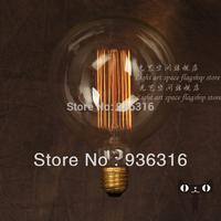 G125 40W/220V E27 Edison light bulb filament bulb fireworks light bulb decorative retro bar lamp personality Edison light bulb