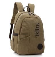 2015 NEW Brand Fashion Korean Style Unisex Travel Canvas Bags Casual Cheap Outdoor Men Backpacks Women Knapsacks Free Shipping