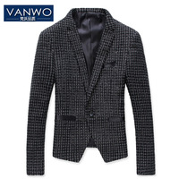 2013 Autumn&Winter Black Men's Blazers Brand Design Fashion Mens Suit Jacket