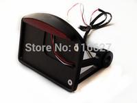 Black LED Side Mount License Plate Tail Light for Harley Sportster Dyna Softail