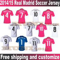 2013/14 Champions League Real Madrid UEFA Third Away Ronaldo isco ALONSO BALE PEPE BENZEMA Thailand Quality Soccer Jersey.