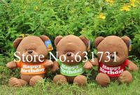 1 Pcs Hot Sale 2014 Low Price 60CM Plush Toys High Quality Low Price Toys Kawaii Animal Stuffed Soft Stuffed Cute Bear for kids
