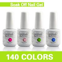 Free Shipping!!! 7 in 1 Professional Shellac Color Coat + Base Coat + Top Coat Nail Glue Gel Set nail gel 60bottles+4 base+4top)