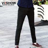 viishow2013 new Autumn Korean men's casual pants harem pants Slim trousers male pants influx of men