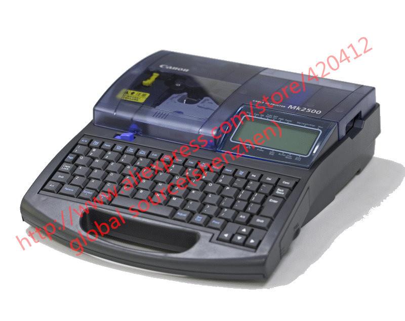CABLE ID PRINTER MK2500 electronic lettering machine wire marker tube marking machine ferrule printing machine(China (Mainland))
