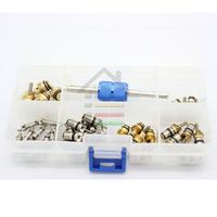 30pcs Automotive air conditioning valve pin gas nozzle high-low pressure valve tool