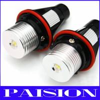 Wholesale 5sets/lot Cree 3W LED Angel Eyes for BMW E39 E61 E60 E63 E64 E65 E66 E87 E53 X5