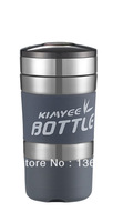 High Quality Food Grade 304 stainless steel double wall 420ML multi-function vacuum flask with filter-keep hot/cold for 16 hours