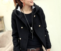 2013  Free Shipping Hot Sale Fashion Winter Thick  Wool Jacket  Women Causal Coat Outwear