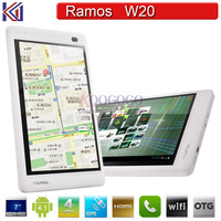 "Ramos W20 7"" Anti-Glare 1024*600 GSM Phone Call Tablet PC AML 8726MXS Dual Core ARM Cortex-A9 1.2GHz 8GB ROM  HDMI WIFI"