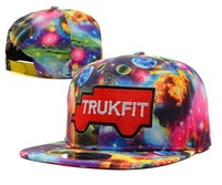Most popular Trukfit Galaxy SKY STAR snapback hats, high quality caps Christmas gift free shipping