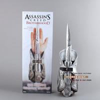 NEW Assassins Creed Hidden Blade Sleeve Sword weapon Brotherhood Gauntlet Replica Cosplay weapons
