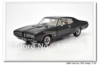 Mbi limited edition alloy car pontiac gto coupe black
