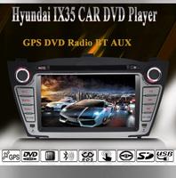 Hyundai IX35 Special 2 DIN Car DVD Player+GPS+DVD+1080P Video+FM/AM Radio+Bluetooth+RDS+Steering Wheel Control+Camea Video Input