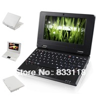 Free shipping 10inch computer 512M 4G Via 8850 android dual core Notebook laptops with Family watch TV or play games on internet