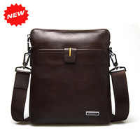 2014 New Arrival Men Shoulder Bag High Quality Brand Fashion First Layer Genuine Leather Messenger Men's Travel Bags,HD-D3-1