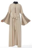 Hot sale Islamic TURKISH women's JILBAB , Coat TK-282  Series(MOQ:5 Piece) ,(Abaya , Jilbab, muslim woman's cloth ,)
