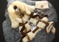 Nature 100% Raccoon Fur Coat Genuine Raccoon Fur Jacket Fashion Winter Women Fur Outerwear EMS Free Shipping TPCRC0002