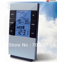 LCD display Home Wireless Weather Station Indoor/Outdoor Temperature Humidity  free shipping