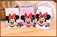 Free Shipping (6PCS/lot) Children Underwear Girls Cotton Panties Princess Cartoon Mickey Mouse mixed corlor