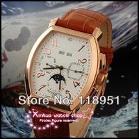 2014 Original Swiss watch belt Cask numerals Sapphire dial automatic mechanical moon phase luxury business men's watch