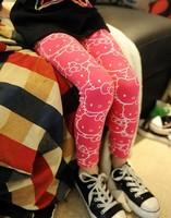 3 color Baby Kids Children's Printing Leggings Girl's leggings 100-140cm Pencil Pant Trousers,baby girl panties free shipping