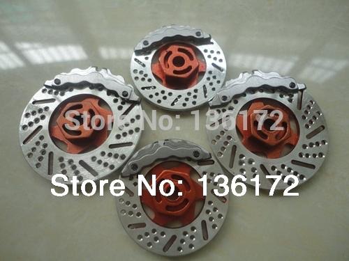 1/10 RC car accessories/RC car parts Aluminum Alloy brake disc/brake dish  free shipping(China (Mainland))
