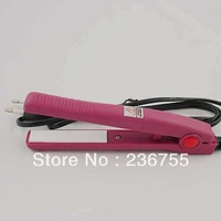 Small splint bangs clip hair straightener straight clip roll dual curly hair ceramic straightener