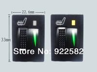 Toyota Prado,Corolla,RAV4,REIZ,Yaris Switch seat heater / Universal fiber car seat heater system auto seat pad heating Toyota