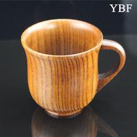 Milk Tea Wine Coffee bar mug Health Elegant Anti-hot Wooden Wild jujube Mugs Chinese style crusader fashionable Cups