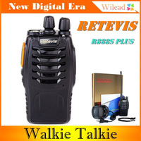 Retevis R888s plus Walkie Talkie FM Radio UHF 400-470 MHz 16CH 5W VOX Bright Flashlight Two Way CB Portable Radio AA0023