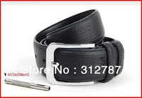 33mm Wide Mens 100% Real Genuine Leather Belt Brand New With Gift Packing Bag