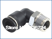 PL10-01 tube size 10mm  1/8 thread  elbow air fittings,pneumatic tube fittings,push in fittings,pneumatic fittings